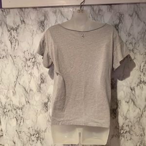 Victoria's Secret Tops - Vs Angels Sequined Spell out Logo grey top